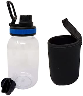Bincy Gym Protein Mixer Sports Shaker Bottle Protein Shaker Sipper Bottle With Cover, 500ml