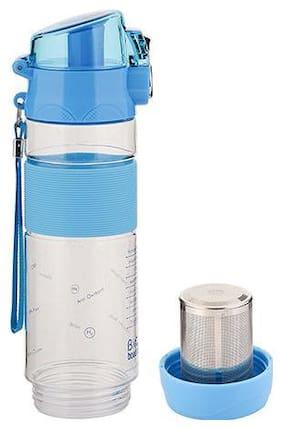 BIO+ Alkaline Water Purifier Water Bottle, 600 ml, Blue