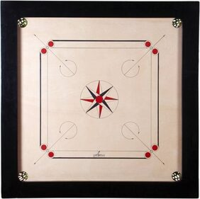 Bogan- Wooden Carrom Board (Large, 32 Inch)