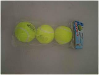 Boka Tennis Cricket Ball 3 Pc Soft