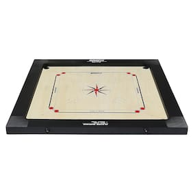 Bronx Elite Carrom Board 30 inch Playing area and 6 mm thick Ply (Coins, Striker & Powder)