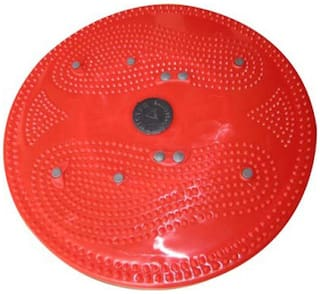 Bs Spy Acupressure Twister Big Disc Equipment- Red And Blue