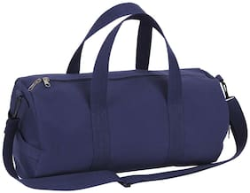 "Canvas Shoulder Strap Bag 19"" Duffle Gym Travel Carry Handles Eco Friendly"