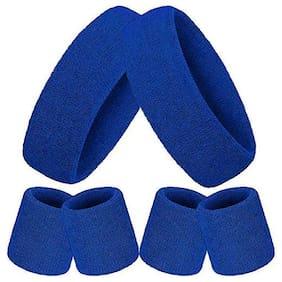CASHWIN Blue Head band - Set of 6