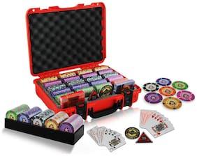 Casinoite 400 Port of Macau Clay Poker Chip Set