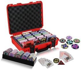 Casinoite 400 Rummy Valley Clay Poker Chip Set