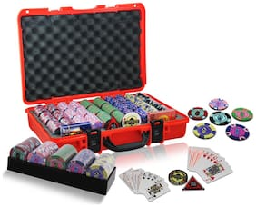 Casinoite 600 Rummy Valley Clay Poker Chip Set