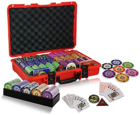 Casinoite 600 Port of Macau Clay Poker Chip Set