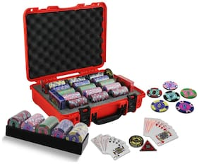 Casinoite Rummy Valley 300 Chip Set