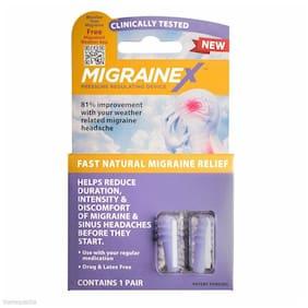 Cirrus MigraineX Ear Plugs Earplug Natural Migraine Relief Weather Change P576A