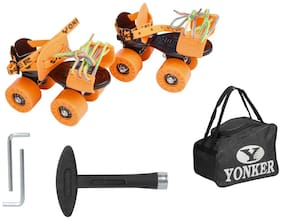 Yonker Orange 4 Roller skates
