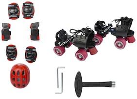 Yonker Red 8 Roller skates