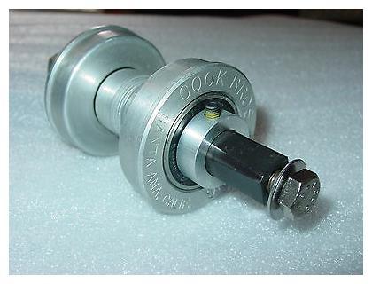 Cook Bros Bullseye Bottom Bracket Lock Ring Collar  BMX Cruiser Fat Chance MTB