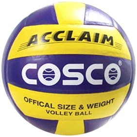 Cosco Acclaim Volleyball-Multicolor (Size-4)