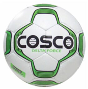 Cosco Delta Force Football-Green And White (Size-5)