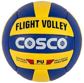 Cosco Flight Volley Volleyball -Multicolor (Size-4)