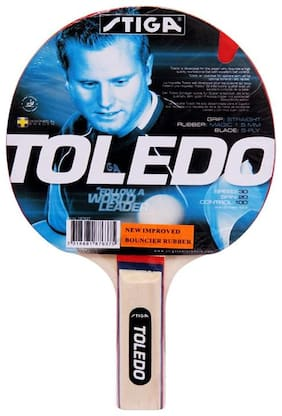 COSCO STIGA TOLEDO MULTICOLOR TABLE TENNIS RACQUET