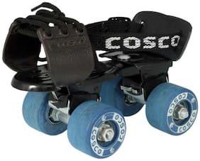 Cosco Tenacity Super JR Quad Roller Skates -Multicolor (Size-31)