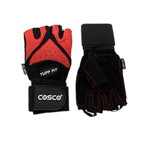 Cosco Tuff Fit Leather Gym Gloves - Male