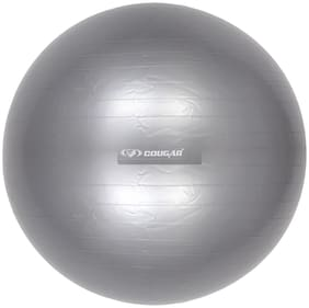 Cougar Anti burst & Non slippery Gym Ball 65 cm in Grey colour