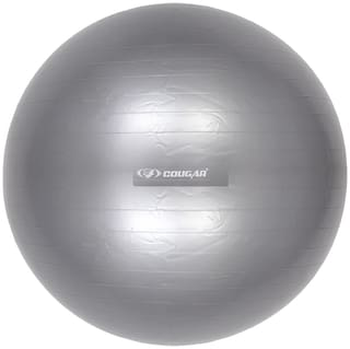 Cougar Anti burst & Non slippery Gym Ball 85 cm in Grey colour