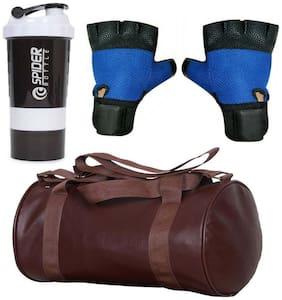 "CP Bigbasket Leather Fitness bag - 43 cm (17"")"