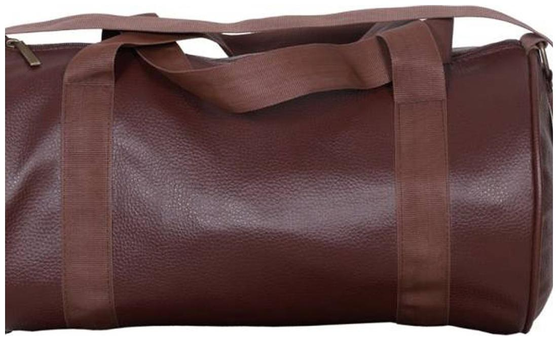 Buy CP Bigbasket Leather Soft Gym Bag (Brown) Online at Low Prices in India  - Paytmmall.com 00714213aedae