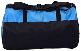 CP Bigbasket Polyester Trendy 30 Ltrs Blue Gym Sport Duffle Bag Travel bag With Shoe Compartment