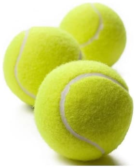 CRICKET BALL,TENNIS BALL,BALL,PACK OF 3