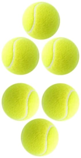 cricket ball/tennis ball (pack of 6)