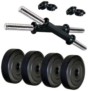 CS Fitness 20 kg PVC Adjustable Dumbbell Set