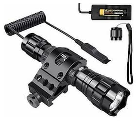 CVLIFE T6 LED Tactical Flashlight Remote Control Torch One Normal Cap Included