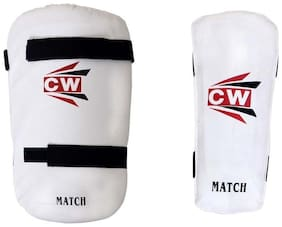 "CW Combo Set Of ""Match"" Thigh Pad With Arm Guard Top Quality Material Made Ideal For Senior Players Light Weight Body Protector Guard Set"