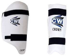 CW Combo Set Of CROWN Thigh Pad With Arm Guard Top Quality Material Made Ideal For Senior Players Light Weight Body Protector Guard Set