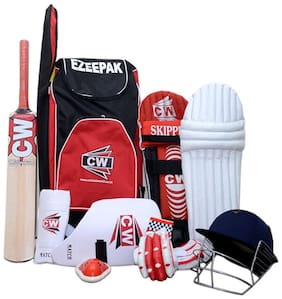 CW Cricket Junior Complete Set With Accessories Size No.6 (Ideal for 10-15 Years Child)