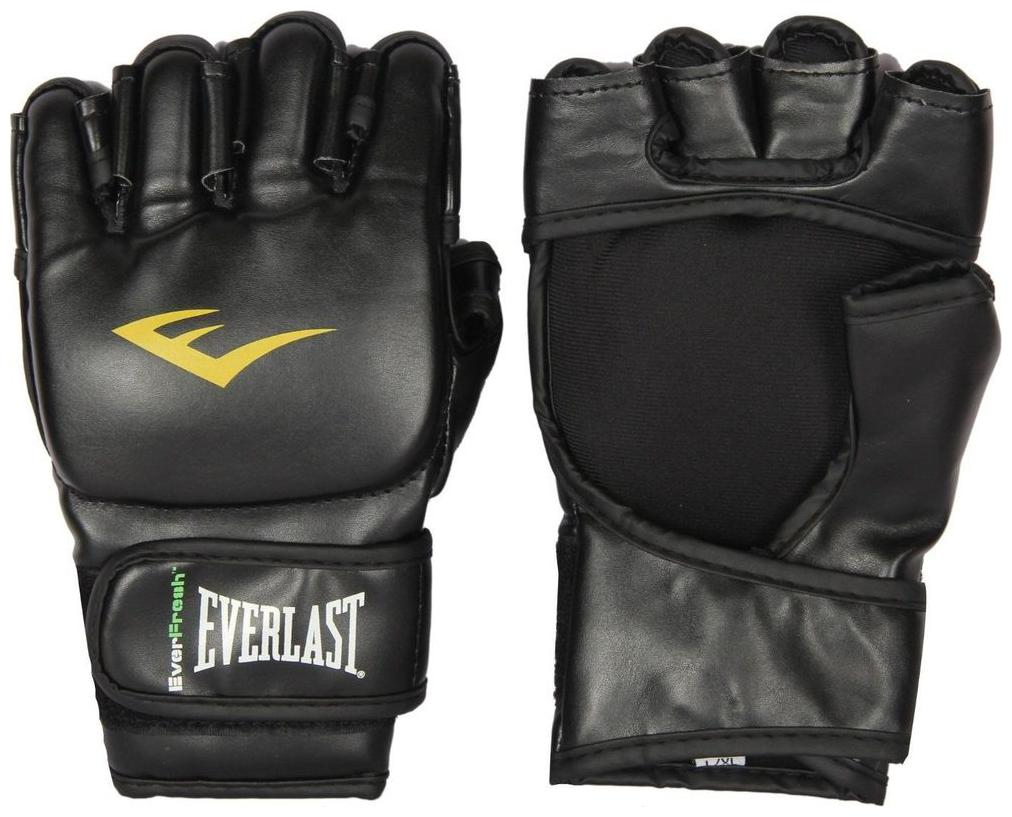 CW Everlast MMA Grappling Gloves Black Colour by Cricket World