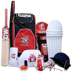 CW Junior Cricket Complete Set with Accessories Size No.5 (Ideal for 9-10 Years Child)