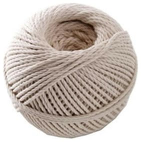 CWC Cotton Cable Cord - #24 x 390', Natural (Pack of 12 balls)