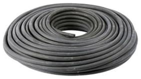 """CWC Hollow Core Rubber Rope - 3/8"""" x 150 ft., Black"""