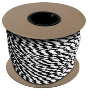 """CWC MFP Halter Rope - 27/64"""" x 300 ft., Black & White"""