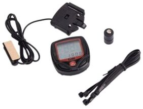 Cycle City Wire Speedometer-Black