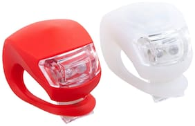 BAZAAR GALI Cycle Light with Camping & Hiking For Combo of Bicycle Front Headlight (2Pc) Multicolor