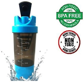 Cyclone Gym Shaker cum Sipper (Assorted Colors) - 500 ml