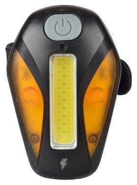 Dark Horse Bicycle 7 Mode LED USB Rechargeable MultiPurpose Super Bright Safety Rear Cob Light