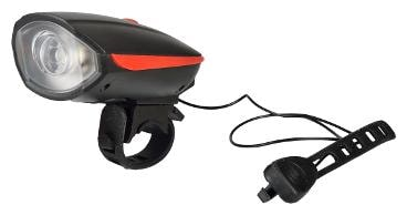 Dark Horse Bicycle CE Stanadard USB Rechargeable LED 3 Mode Front light and Horn 2 in 1 Light/Horn;Red by Darkhorse