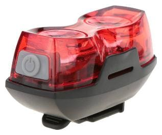 Dark Horse Dark Horse Imported Bicycle 1 W 3 Mode Twin Eye Battery Rear Light