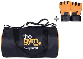 Dee Mannequin Trendy Gym Bag and Gloves Combo