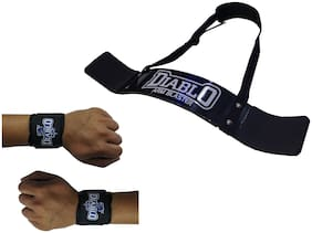 DIABLO Home Gym Combo of Arm Blaster & 1 Pair of Wrist Support