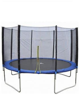 Dolphy 10 Feet Jumping Trampoline with Enclosure