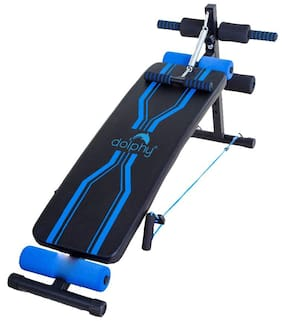 Dolphy Sit Up Bench for Abs Exercises Home Gym